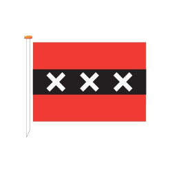 Vlag Amsterdam, meerdere maten