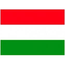 Vlag Hongarije, meerdere maten