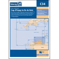 Imray C34, Cap d'Erquy to...