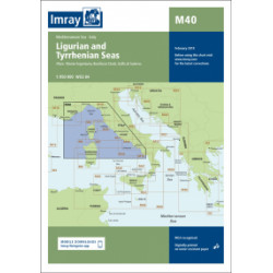 Imray M40 Ligurian and...