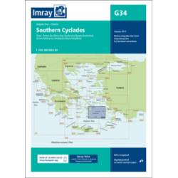 Imray G34 Southern Cyclades...