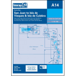 Imray A14 San Juan to Isla...
