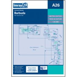Imray A26 Barbuda