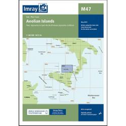 Imray M47 Aeolian Islands