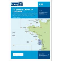 Imray C41 Les Sables...