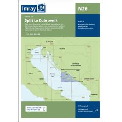 Imray M26 Split to Dubrovnik