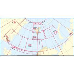 Overzicht Noorse Zeekaarten...
