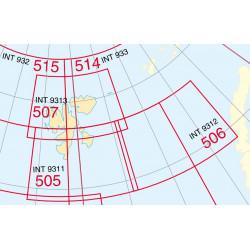 Noorse zeekaart 505