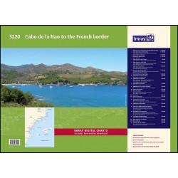 Imray 3220 Cabo de la Nao...
