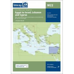 Imray M22 Egypt to Israel,...