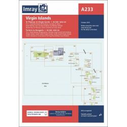 Imray A233 Virgin Islands