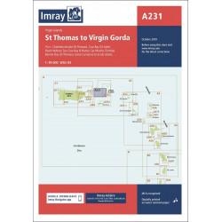 Imray A231 Virgin Islands