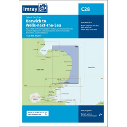 Imray C28, The East Coast -...