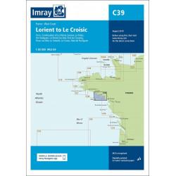 Imray C39 Lorient to Le...