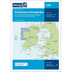 Imray C54 Galway Bay to...