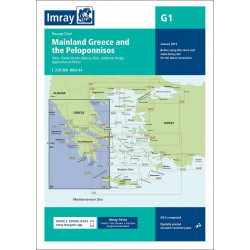 Imray G1 Mainland Greece...