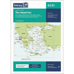 Imray G121 The Inland Sea