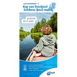 ANWB Waterkaart 4 Drenthe