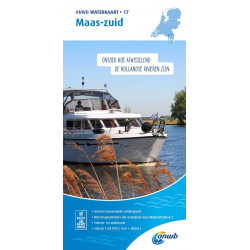 ANWB Waterkaart 17 Maas-Zuid