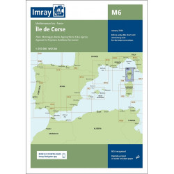 Imray M6 Ile de Corse