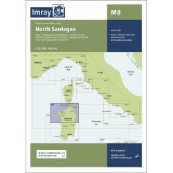 Imray M8 North Sardegna