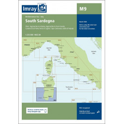 Imray M9 South Sardegna