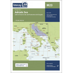 Imray M23 Adriatic Sea...