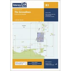 Imray B3 The Grenadines