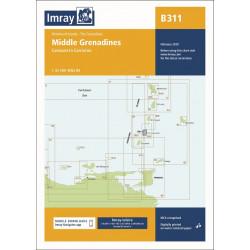 Imray B311 Middle Grenadines
