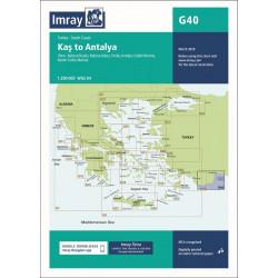Imray G40 Kas to Antalya