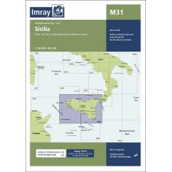Imray M31 Sicilia