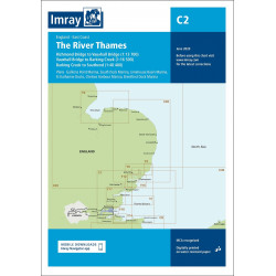 Imray C2, The River Thames