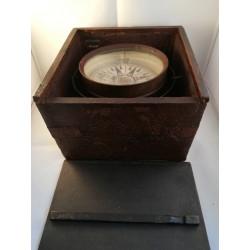 Droog kompas in kist