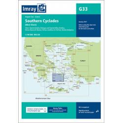 Imray G33 Southern Cyclades...