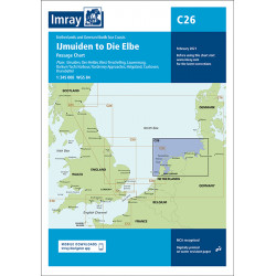 Imray C26, IJmuiden to Die...