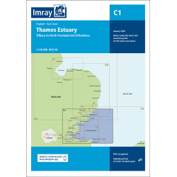 Imray C1, Thames Estuary
