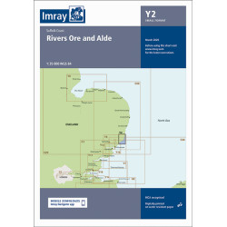 Imray Y2 Rivers Ore and Alde