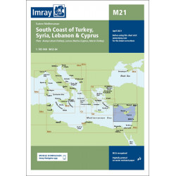 Imray M21 South Coast of...