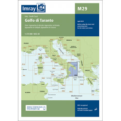 Imray M29 Golfo di Taranto