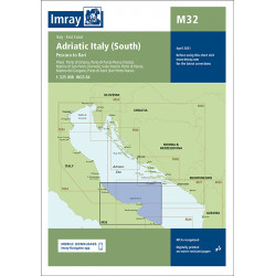 Imray M32 Adriatic Italy...