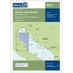 Imray M33 Adriatic Italy -...